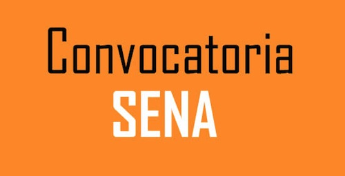 Proxima Convocatoria SENA 2015